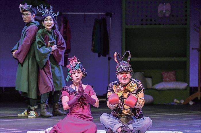원작 윌리엄 셰익스피어  각색 오세혁  연출 부새롬 출연 서울시극단원