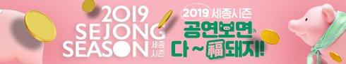 2019 세종시즌 공연보면 다~ 복돼지!