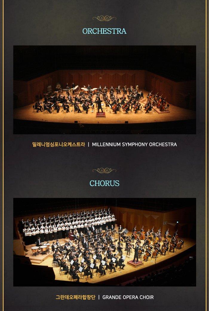orchestra 밀레니엄심포니오케스트라 millennium symphony orchestra chorus 그란데오페라합창단 grande opera choir
