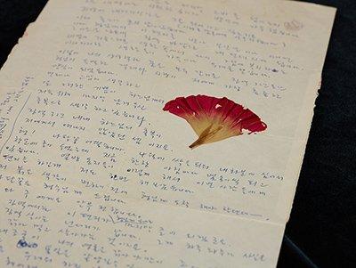 홍성담(1955-), 옥중편지, 1992